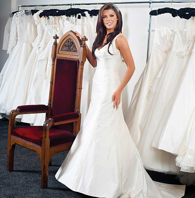 First Scottish stockist of Madeline Isaac-James bridal gowns. | Tie ...