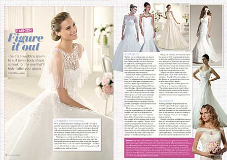 Wedding fashion magazine