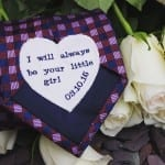 The message on this tie embroidered by Stitched Forever hashellip