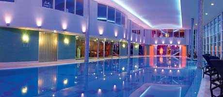 Luxurious  spa at Stobo Castle