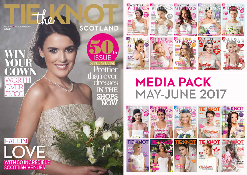 Download the Tie the Knot Scotland media Pach