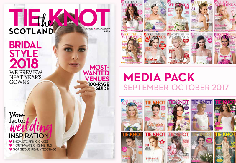 Click to download the Tie the Knot Scotland media pack