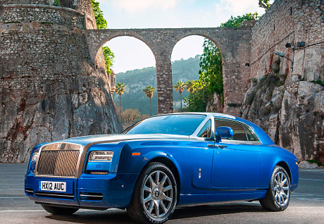 Even car amateurs can see that this Rolls-Royce Phantom Coupé is luxury on wheels and it's available to hire from Palladium Executive Hire from 2014 onwards