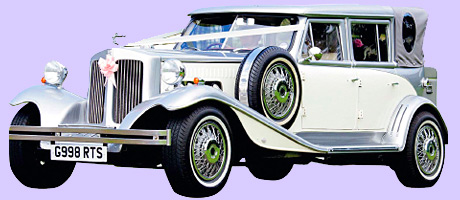 View this unique Beauford Landaulette at West of Scotland Chauffeur Drive's wedding centre in Paisley, where you can see its fleet and visit a range of other wedding suppliers all under one roof