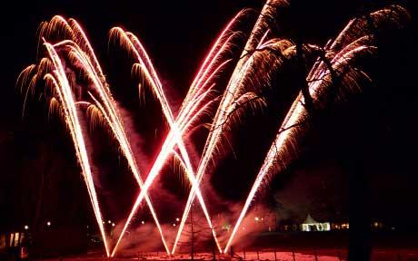 Saltire Fireworks