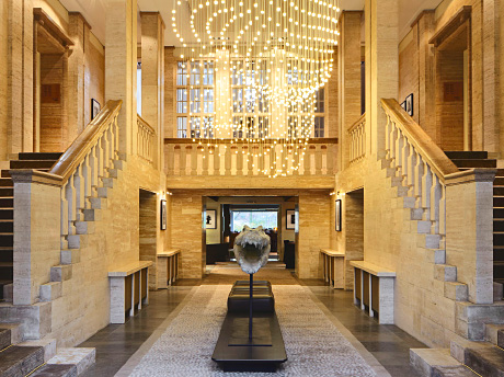 Das Stue, a chic new hotel in Berlin, is the perfect base from which to explore the many cultural sights of this dazzling city