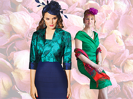 Left, Style 90328 by Condici, POA, stockists include Bear Necessities, Catwalk and Sheila Conn Ladies Fashions. Right, The right accessories can take an outfit to the next level See page 410 for stockist details