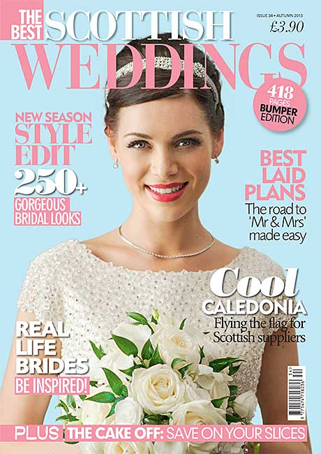 The Best Scottish weddings magazine