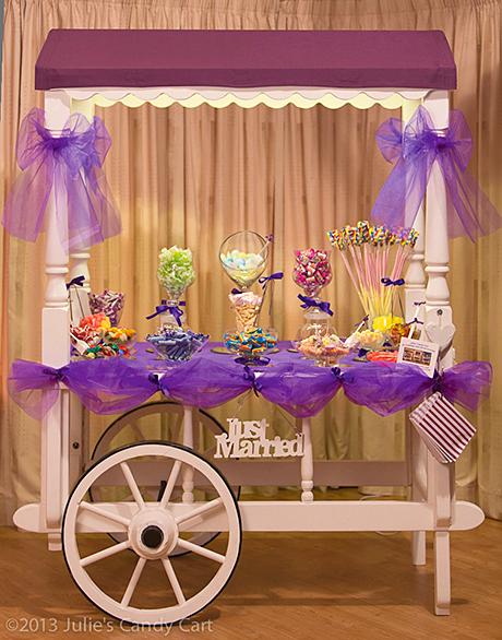 Candy cart by Julie's Candy Cart, www.juliescandycart.co.uk