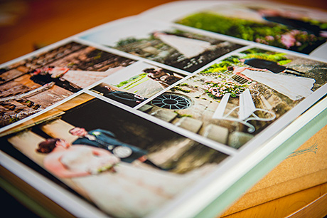 An example of a finished McBeth Photography album