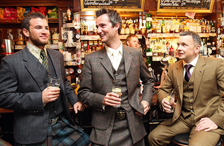 Kilts and tailoring from a selection at 21st Century Kilts