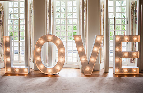 go2 event hire has these amazing giant letters available to hire