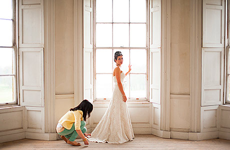 Insider wedding-planning action courtesy of Timeless White