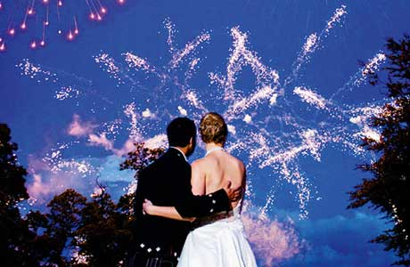 21CC Fireworks, wedding entertainment, fireworks, Scotland,
