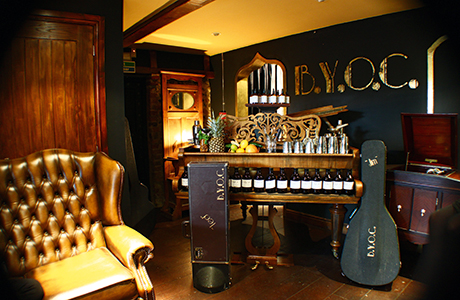 BYOC can create a pop-up speakeasy at your venue, and work with you to serve some delicious cocktails that your guests are sure to love