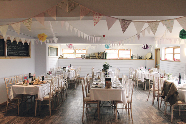 Bogbain Farm, just outside Inverness, offers an unforgettably quirky setting for your wedding