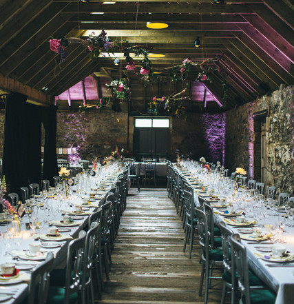12 beautiful scottish barns perfect for your wedding tie the knot dramatic lighting brings out the lovely architectural details at the byre at inchyra solutioingenieria Choice Image