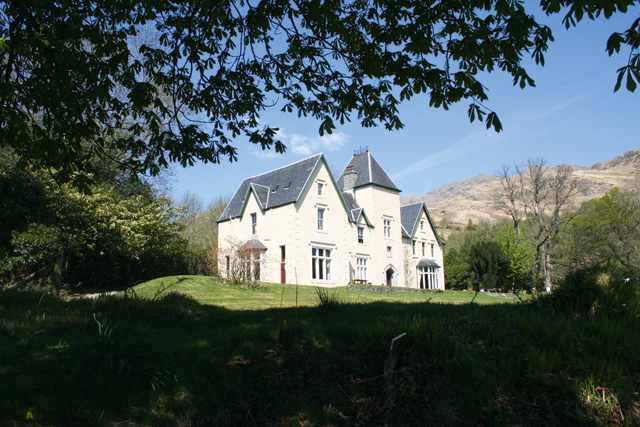 Glenfinnan House Hotel, in a historic corner of the Highlands, offers amazing views of Ben Nevis