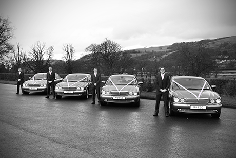 For large parties who want to make a lasting impression, you couldn't do better than booking EG Chauffeur Hire's four matching Jaguar Super V8s (egchauffeurhire.com)