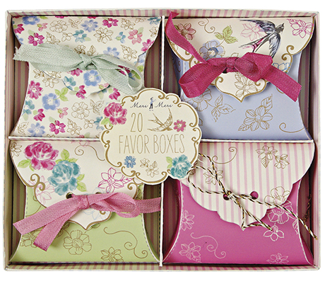 driftliving_Box of Floral wedding Favours