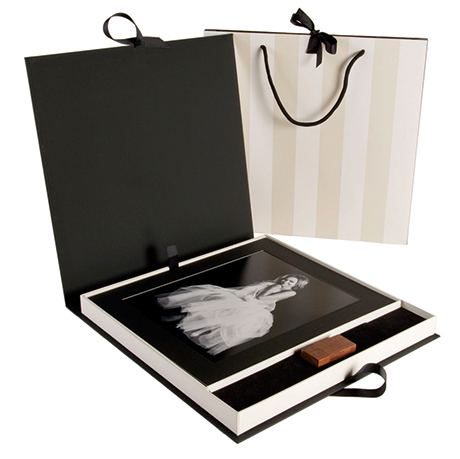 Looking at images on screen, no matter how beautiful, is no substitute for high-quality prints, such as you would find in this lavish memory box (image by  www.richardcraigphoto.co.uk)