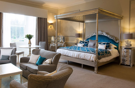 The big reveal: Balbirnie House unveils new honeymoon suite