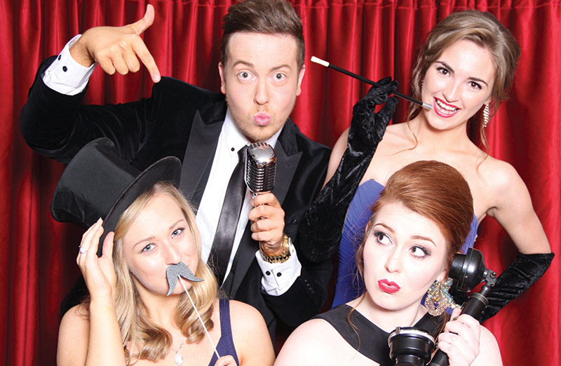 2015's hottest photobooth trends