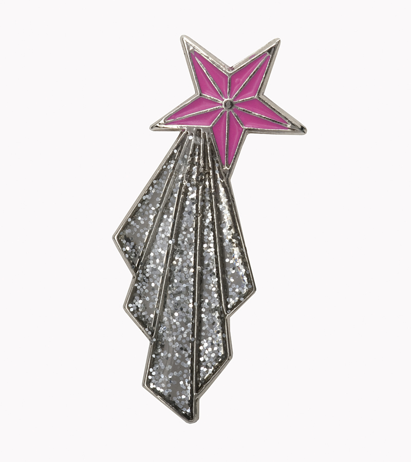 Exclusive Jenny Packham badge, suggested donation £2.50