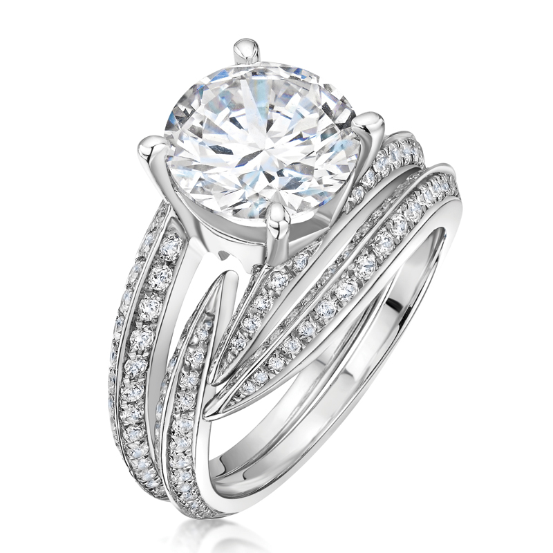 Iconic diamond ring, from £9950, Laing Edinburgh