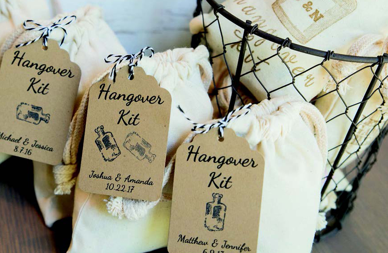 Wedding Favour Ideas 2015 : Stock up on your trusty cures (we suggest Irn Bru, Monster Munch and ...