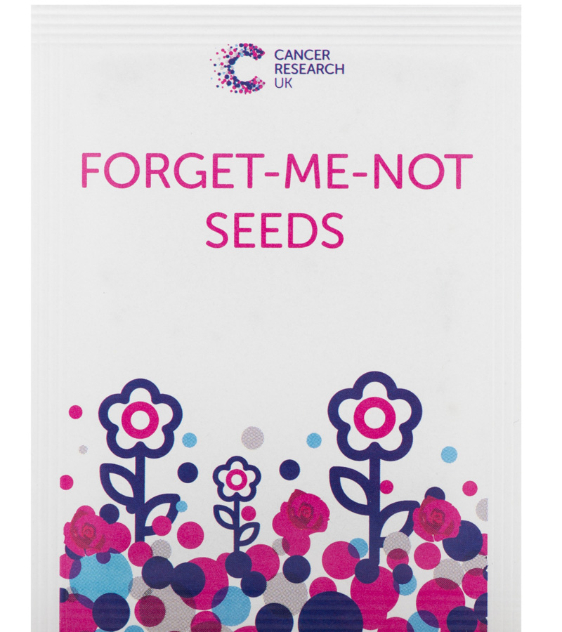 Cancer Research Forget Me Not Seeds Suggested Donation 2