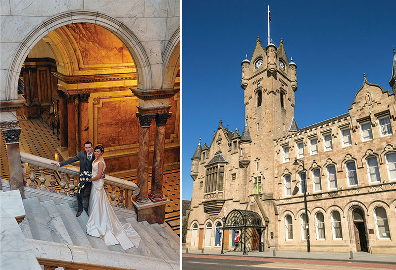 Glasgow City Chambers and Rutherglen Town Hall