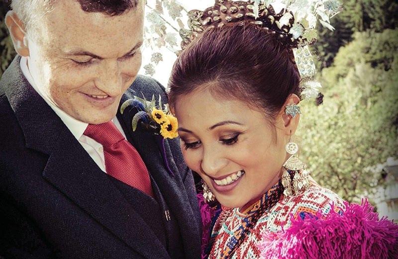 Kenneth Hay & Agenesslee Binti Raini