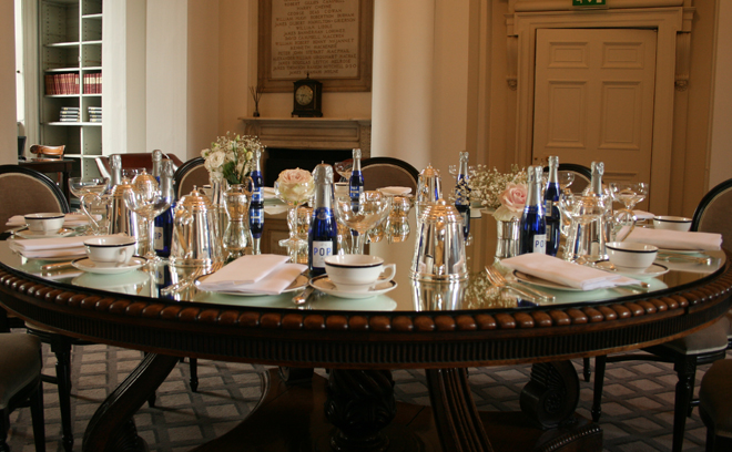 Putting on the fizz: afternoon tea at The Signet Library