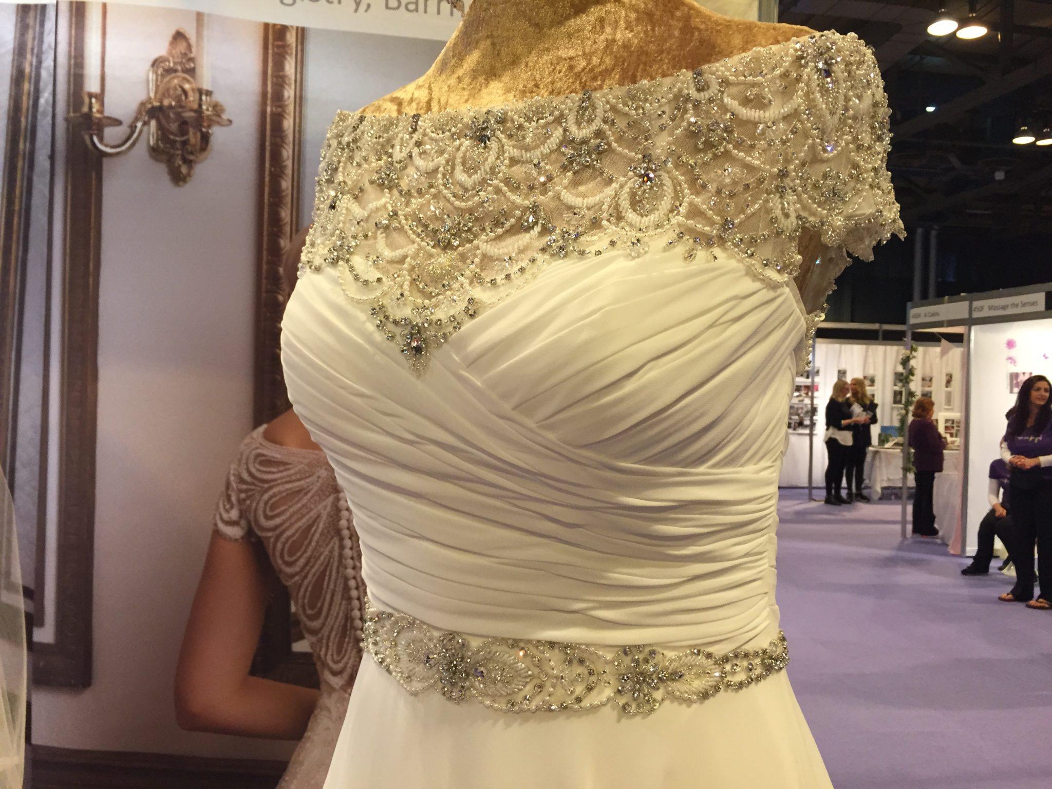 10. Wedding Wise Justin Alexander dress