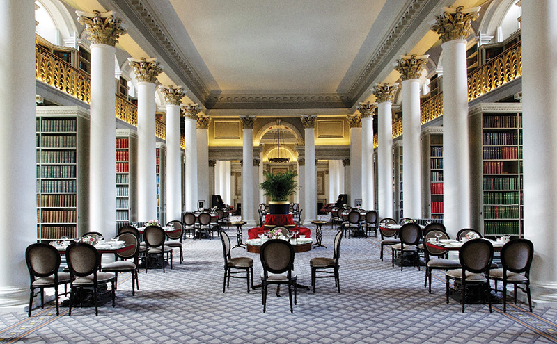 The Signet Library hosts a plush, quirky afternoon tea experience