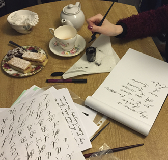 Love letters: we try our hand at calligraphy with Laura E Patrick