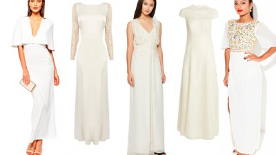Five wedding dresses for £250 and under