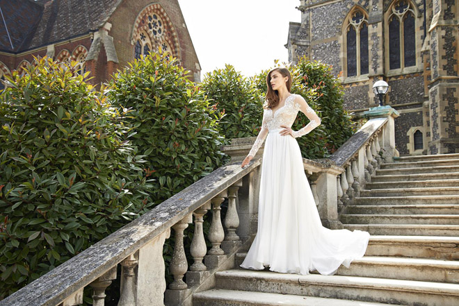 Camilla gown from Suzanne Neville's 2016 'Songbird' collection