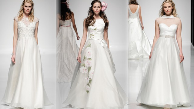 A bridalwear collection to covet: Alan Hannah's Watercolours