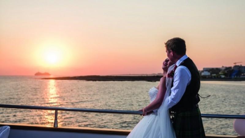Weddings abroad: Hayley McDonald and Michael Ross