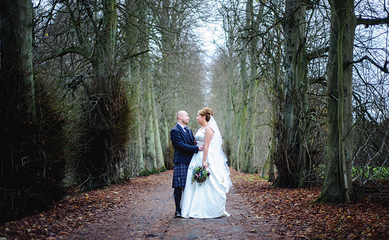 """""""This photo was taken shortly after the ceremony and was the first moment Chris and Mel had to just stop and take in the incredible feeling of being husband and wife. Little moments like these, in beautiful settings like this, are our favourite kind of picture."""" Christina Golian, Elemental Photography"""