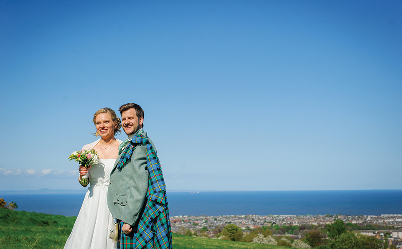 Susi & Colin's Wedding - Central Library and Summer Hall, Edinburgh