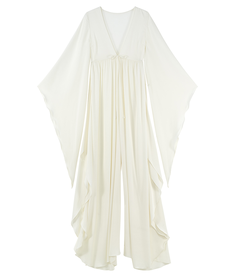 web_ASOS Bridal Jumpsuit with Angel Sleeve and Wide Leg ú150 Live 14.03