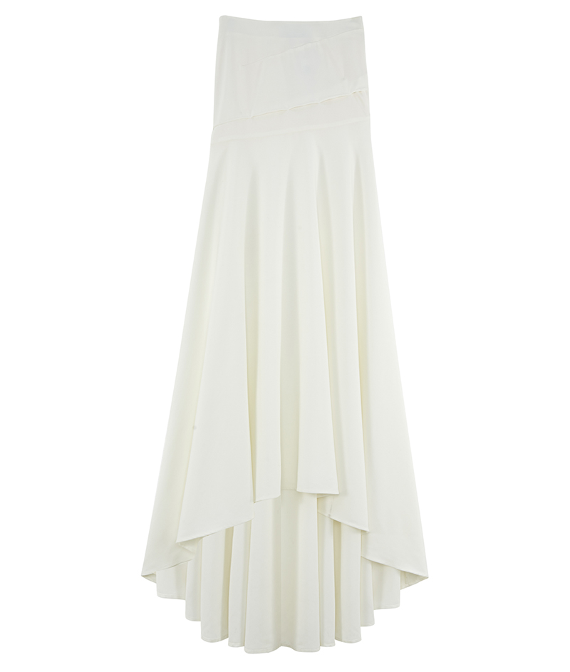web_z. ASOS Bridal Maxi Skirt with Puddle Train ú85 Live 14.03