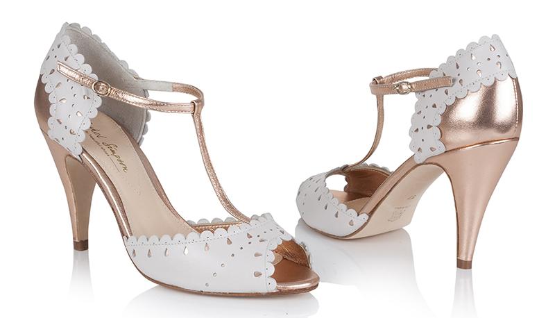 Rachel Simpson - Monique Porcelain & Rose Gold £175 (pair)