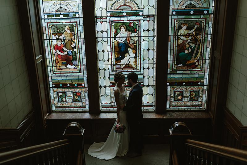11. Rooftop-Mosaic-Kieran-Rebecca-Stylish-West-End-City-Wedding-One-Devonshire-Gardens-Glasgow-Urban-Wedding-Photography-105