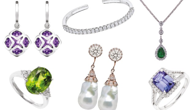 Wedding bling for your birthstone