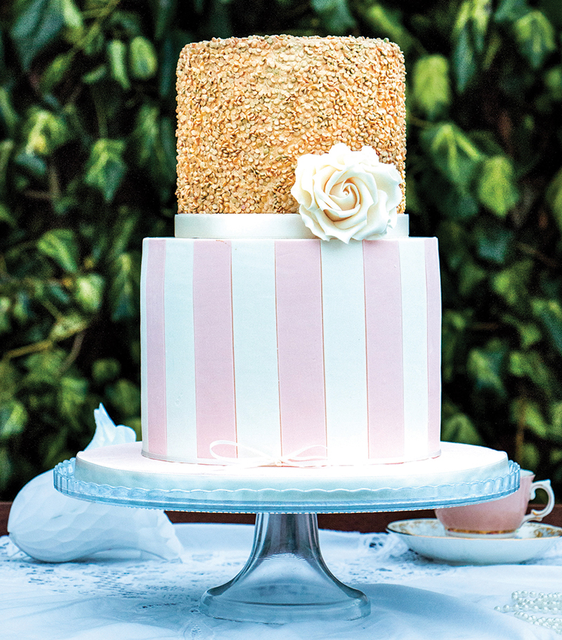 Texture greatly enhances flavour – look out for detailed surfaces such as these from Three Tiers & Tea