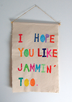 I Hope You Like Jammin' Too print, £69, The Mint List